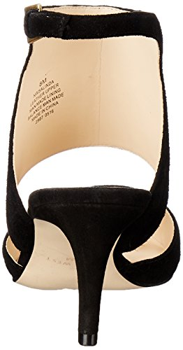 Nine West Salinda Daim Talons Black
