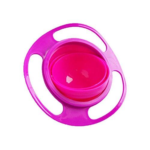 Junio1 Non Spill Füttern Kleinkind Gyro Bowl-360 Kinder-Lebensmittel Spilling Vermeid Waschschüsseln