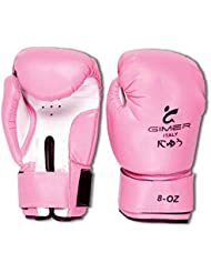 Gimer 11/126, guantes mujer, Rosa, 8once