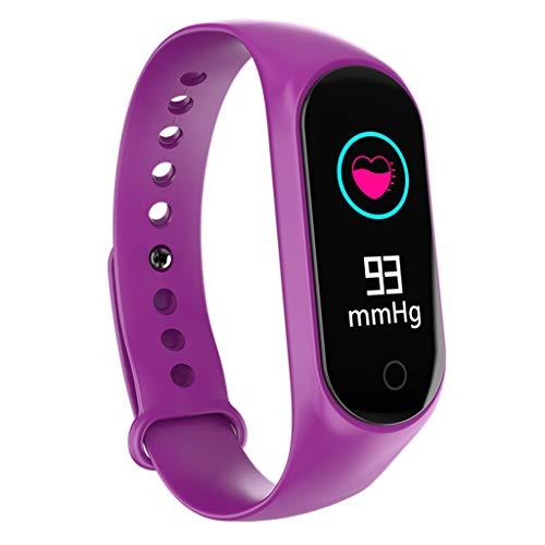 iCerber Smartwatch Wasserdicht IP67 Smart Watch Uhr mit Pulsmesser Fitness Tracker Intelligente Armbanduhr mit Schrittzähler Schlaf-Monitor SMS Benachrichtigung Push kompatibel für Android und iOS