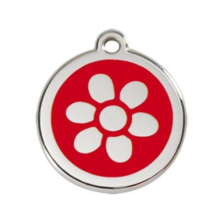 Red Dingo Fleur en Émail pour chien