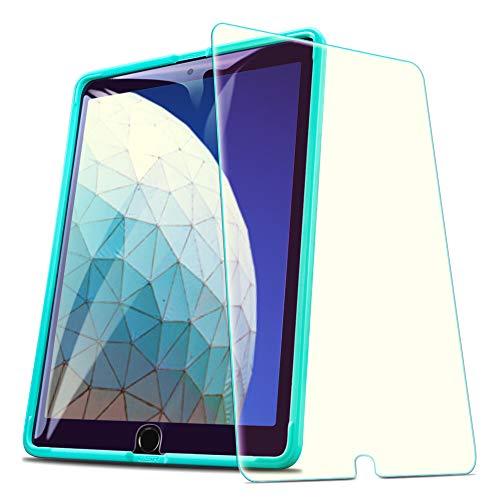 ESR Blaulichfilter Panzerglas Schutzfolie kompatibel mit iPad Air 3 2019 / iPad Pro 10.5 Zoll, Premius 9H Hartglas Bildschirmschutzfolie für iPad 10.5