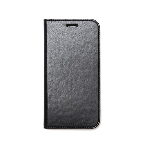 Zenus Basic Diary für Samsung Galaxy S7 in schwarz [Weiches Kunstleder   Bookstyle   Kreditkartenfächer] - ZA600043