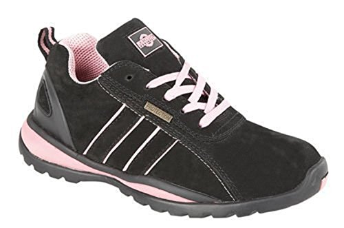 fc884f43388 Ladies Ottawa Safety Steel Toecap Work Trainer Boot Womens Shoes ...