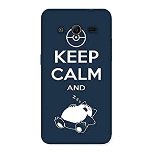 Gorgeous Keep Calm And Sleep Back Case Cover for Galaxy Core 2