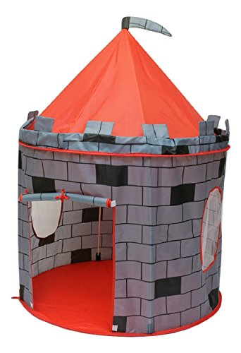 PIGLOO Cubby Tent House Play House for Kids Ages 3+ Years, 105 x 135 cm, 1 Piece