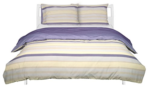 AmazonBasics-Poly-Cotton-Duvet-Set-Blue-Stripes