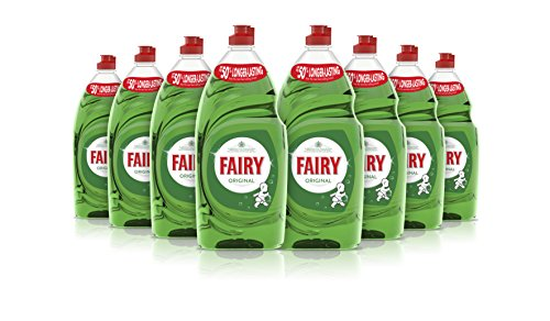 Fairy Original Washing Up Liquid 1015 ml, Pack of 8
