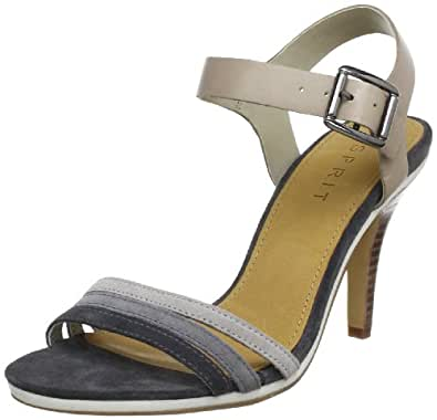 Esprit Q05528, Sandales femme - Gris (Dark Grey 025), 38 EU