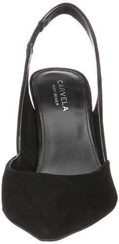 Carvela Acorn Np, Chaussures À Talons Noirs Pour Femmes