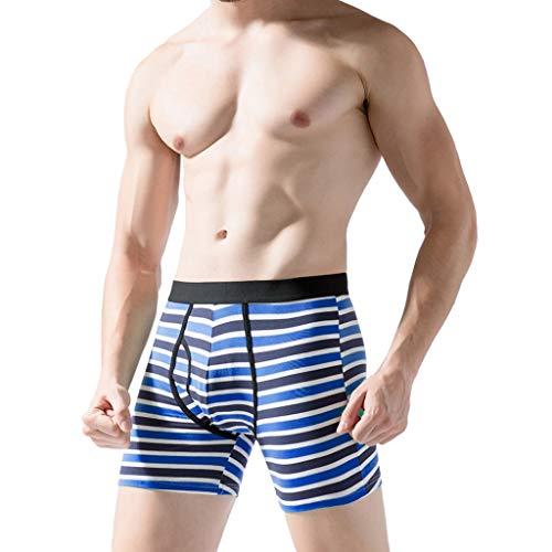 Timitai Herren Slips Unterwäsche, Pure Color Boxer Briefs Shorts Ausbuchtung Unterhose -