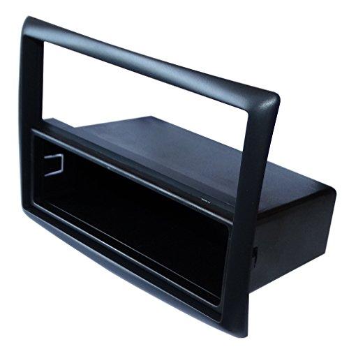 AERZETIX: Marco adaptador para radio de coche, vehiculos Color: negro C11135