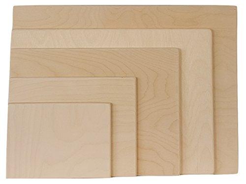 Holz-Platte für das ausbreiten von Papier zum Bemalen mitWasser-Farbe,A3,A4und A5, a2
