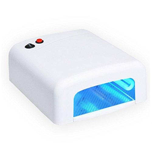Nageldesign Starterset mit UV Lampe und Minifräser - 3