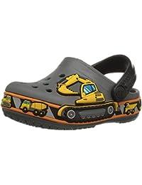crocs Unisex-Kinder Crocband Fun Lab Graphic Clog Kids