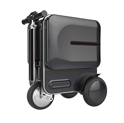 Tingting bagaglio a mano intelligente astuto dei bagagli della cabina di 20 pollici di auto-segue i bagagli di mano dell'abs della valigia con la serratura di tsa,black