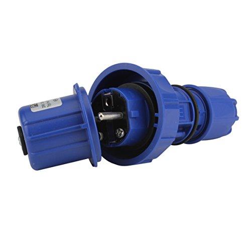 Sonstige Druckwasserdichter Schuko-Stecker IP 66/IP68, 44168