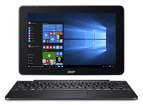 Acer One 10 10.1-Inch Laptop - (Black) (Intel Atom X5-Z8350 Processor, 4 GB RAM, 64 GB eMMC, Windows 10)