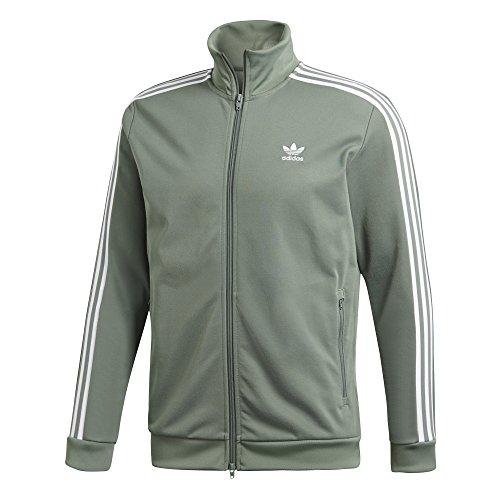 adidas Originals DH5820 Beckenbauer Jacke Gruen -