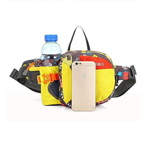 Wewod Gürteltasche Mode bunte Muster Outdoor Sport Taschen G