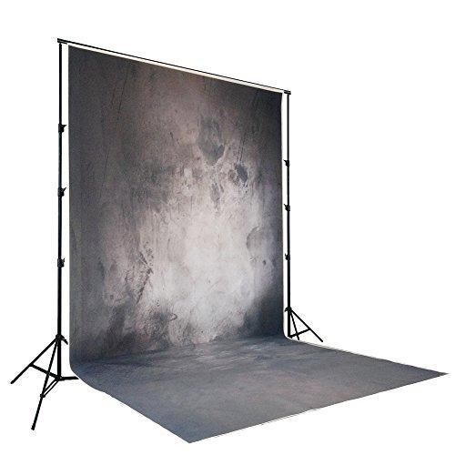 Nivius-SP 150X300cm Schwarz blau grau Beton Wand Hintergrund Halloween Hintergrund Partei Kinder Foto Tapete (Foto Hintergrund Halloween)