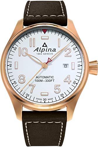 Alpina Geneve Startimer Pilot AL-525S4S4 Reloj de Pulsera para hombres Reloj Aeronóautico