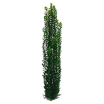 Jumbo Aquarium Or Pond Artificial Plant Stands Over 3 Feet Tall With Heavy Base Bushy Foliage from United Aquatics