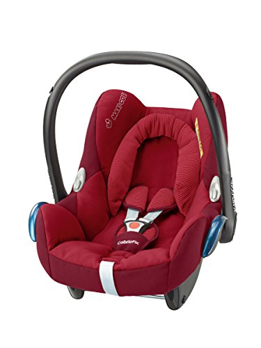 Maxi-Cosi Cabriofix, Babyschale Gruppe 0+ (0-13 kg), robin red, ohne Isofix-Station