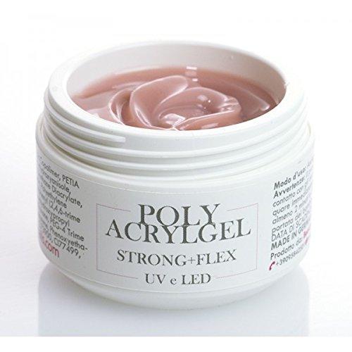 polyacrylgel – acrilgel- Natural – UV/LED – 30 ml