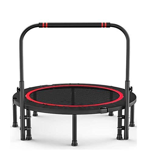 LIULAOHAN -Trampolin Outdoor Trampolin/Erwachsenensport Gewichtsverlust Trampolin/Gym Home Indoor Sprungbett (Größe: 100CM), 124CM Super hohe Qualität (Size : 120CM)