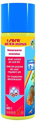 Sera 03540 pH/KH-minus 100 ml - Weiches Wasser, aber sicher
