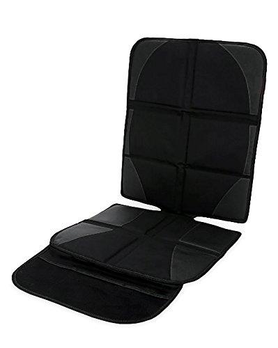 Skaize Kindersitzunterlage Auto-Sitzauflage Kindersitz Sitzschoner Schwarz, Isofix Geeignet