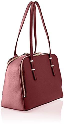 Guess Hwvg6421090, Borsa a Mano Donna, 13x22.5x36 cm (W x H x L) Rosso (Bordeaux)