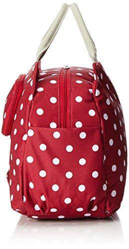 Unbekannt Unisex Tosca Polka Gepäckträgertasche / Handtasche Red
