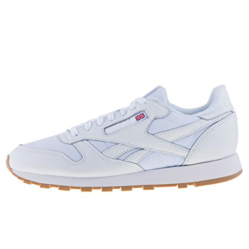 Reebok Classic Leather Estl, Baskets Homme, Weiß Blanc Cassé (Whiteskull Grey Whiteskull Grey)