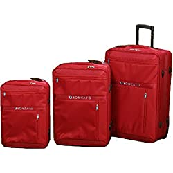 Roncato - Juego de maletas Rojo rojo