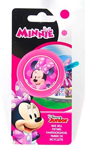 Kubbinga Kinder Disney Minnie Fahrradklingel, Mehrfarbig, Einheitsgröße (Vans Kleinkind Disney)