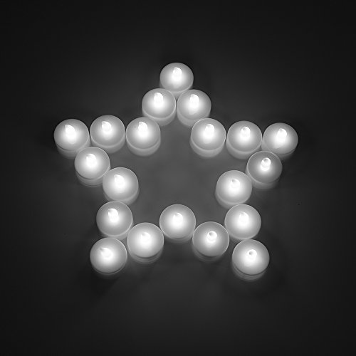 MAXAH® LED velas en plástico