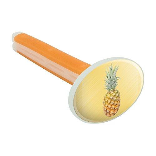 Preisvergleich Produktbild Ananas Obst auf Gelb Tropical Hintergrund Auto-Lufterfrischer Vent Clip–Citrus Blossom Duft
