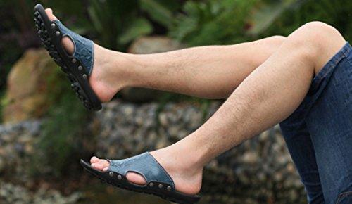 Herren Outdoor Waten Sandalen Strandschuhe Mehrfarbig Multi-size Blue