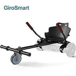 GiroSmart Chaise Kart Seat pour Self Balancing Scooter électrique Scooter Compatible avec 6.5, 8 et 10 Pouces Skateboard Électrique Hoverkart