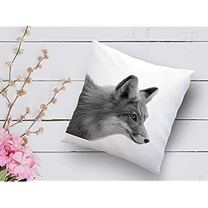 Kissen mit Print Fuchs