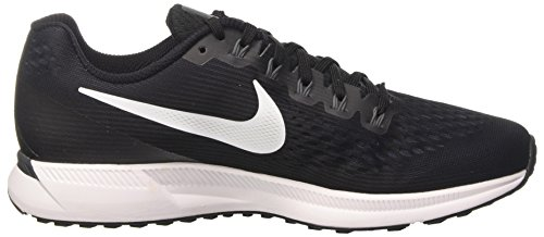 Nike Air Zoom Pegasus 34, Scarpe Running Uomo Nero (Black/White/Dark Grey/Anthracite)