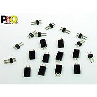 POPESQ/® 10 STK x Kit Buchsenleiste und Stiftleiste 2.54mm 8 polig Gerade #A1995