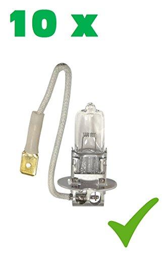 PRAKTISCHES 10er Set! (Grundpreis: 1,85 EUR/STK) 10 x H3 24V 70W PK22s Glühlampe Glühbirne Halogen-Scheinwerfer-Lampe Halogen-Lampe Auto-Lampe