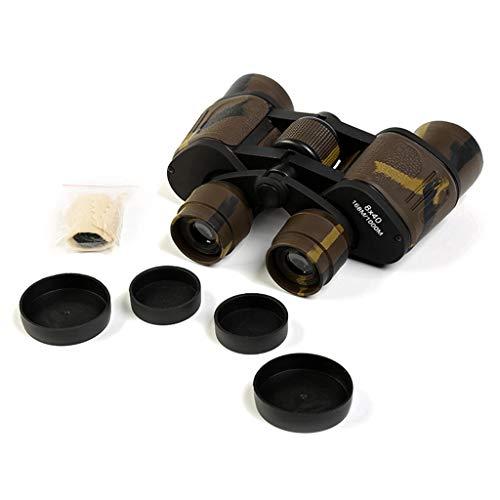 MODKOY Wasserdicht Ferngläser Erwachsene HD Fernglas 8X40 Zoom 65mm Objektiv Feldstecher, für Jagd Camping Reisen Vögel Beobachten Astronomie Sport und Tierwelt schwarz