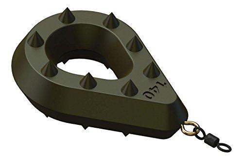 SURETTI Angelblei Grip-Bomb mit Öse und Wirbel, grün, 80 g x 6 Stück, 7235881A