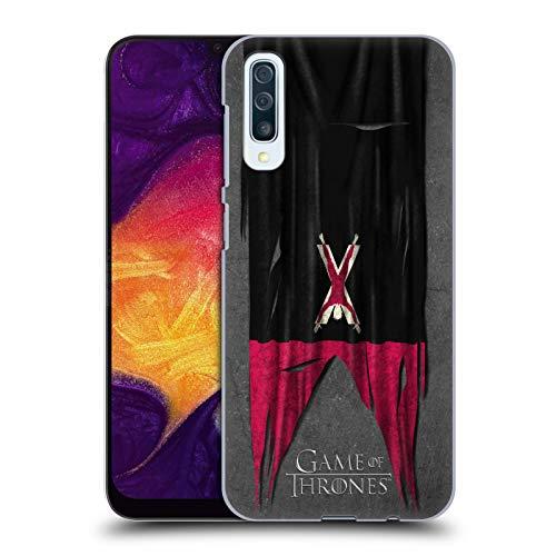 Head Case Designs Offizielle HBO Game of Thrones Bolton Sigil Flags Harte Rueckseiten Huelle kompatibel mit Samsung Galaxy A50 (2019) Flag Case Zubehör