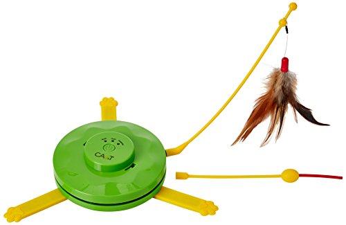 Toy Laser Pet (CA & T 2-in-1-Flying Feder und Verstecken Maus Spiel)