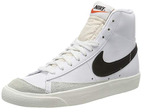 Nike Herren Blazer Mid '77 VNTG Basketballschuhe, Weiß (White/Black 000), 42.5 EU